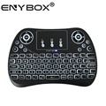 Ergonomic pocket android smart tv laptop electronic mechanical gaming led backlit usb mini wireless keyboard T2