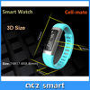 Hot sales Silicone Wireless Smart Sport Bracelet with Calorie Counter mobile phone accessories small mobile phone
