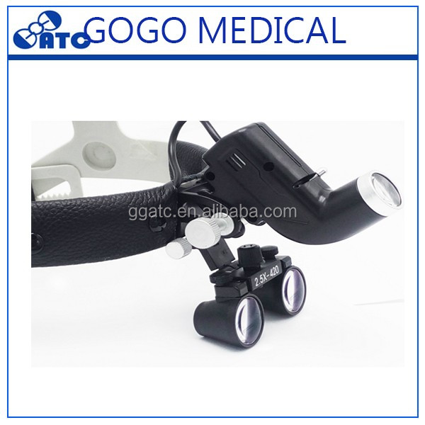 Hot sale for dental headlight and dental loupes with light