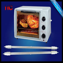 halogen pizza oven heating element , ring shape heater lamp