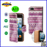 2014 New Product Aztec Tribal Tribe Vintage Retro Wallet Leather Cover Case For iPhone 6--Laudtec