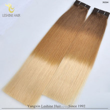 Qingdao Factory Wholesale Top Quality Intact Cuticles 3 tone color ombre hair