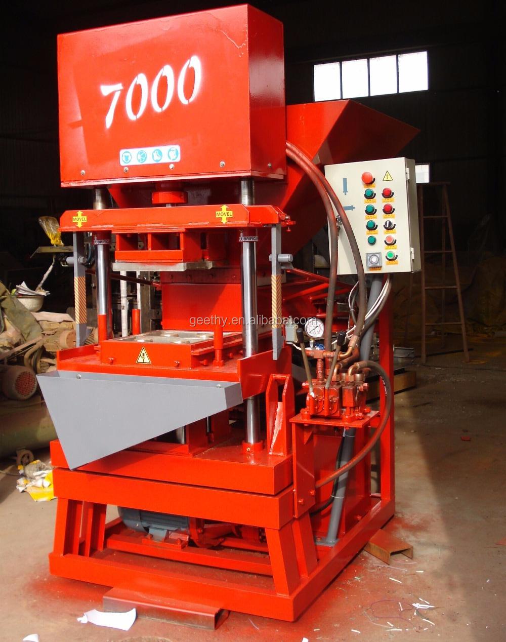 Interlocking Compressed Earth Block Machine : Eco premium thailand soil interlocking brick machine