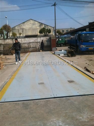Digital truck weigh scale