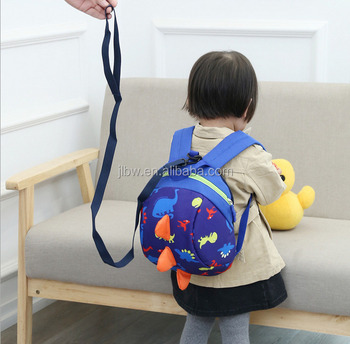 in stock Oxford material Cartoon design anti-lost baby backpack