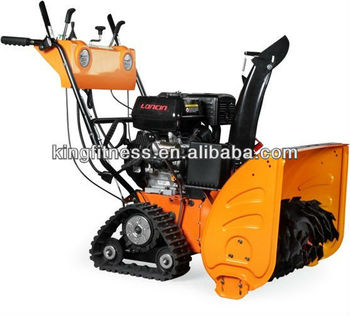 2012 hot sale track engine snow blower ,snow blower,snow sweeper thrower KF011 11HP