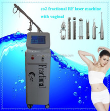 2016 7 joints arm vaginal tightning co2 laser fractional scar removal machine