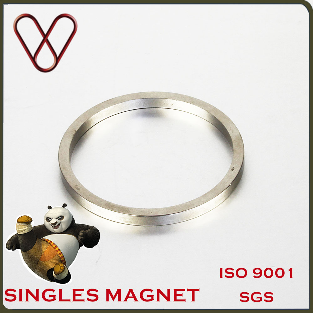 Permanent Strong NdfeB big Ring Magnet Industrial magnet