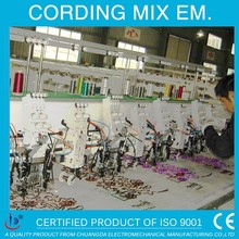 HIGH PRECISION MIX CORDING SEQUIN CORDING EMBROIDERY MACHINE WITH TOWEL AND CORDING