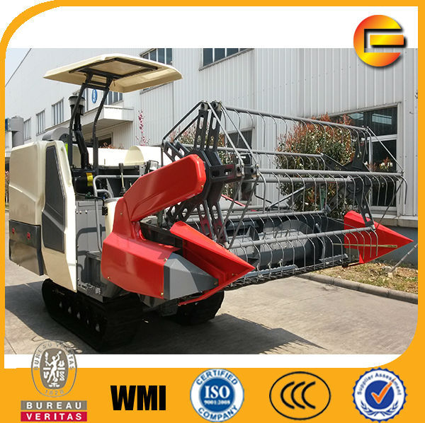 China brand wheat rice combine harvester competitive than john deere combine harvester rice
