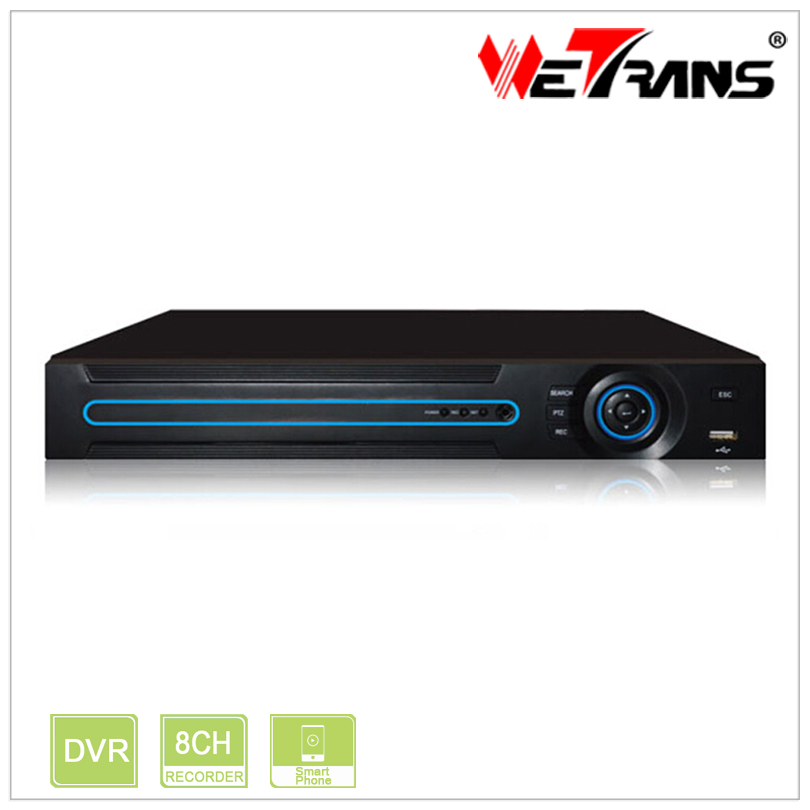 Hot 8CH AHD DVR XVR2408H Onvif Network 8 Channel IP NVR 1080H 720P 4CH Audio Input Multi-language H264 DVR admin password Reset