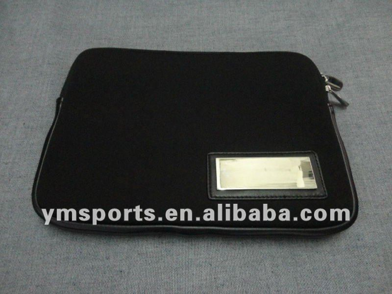 Neoprene tablet sleeve for tablet pc bag