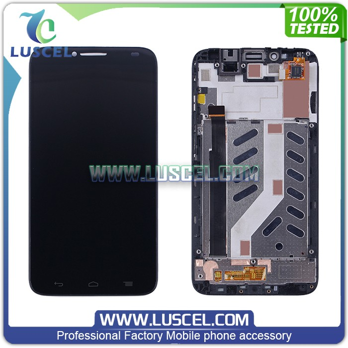 Test one by one LCD screen for Alcatel Idol 2/OT6037 LCd touch