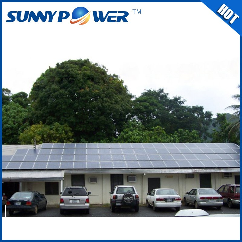 High Efficiency 10kw home solar power system