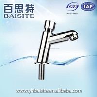 Chrome Finish Plastic Tap ABS Plastic Washing Foot Faucet Cold Water Dispenser