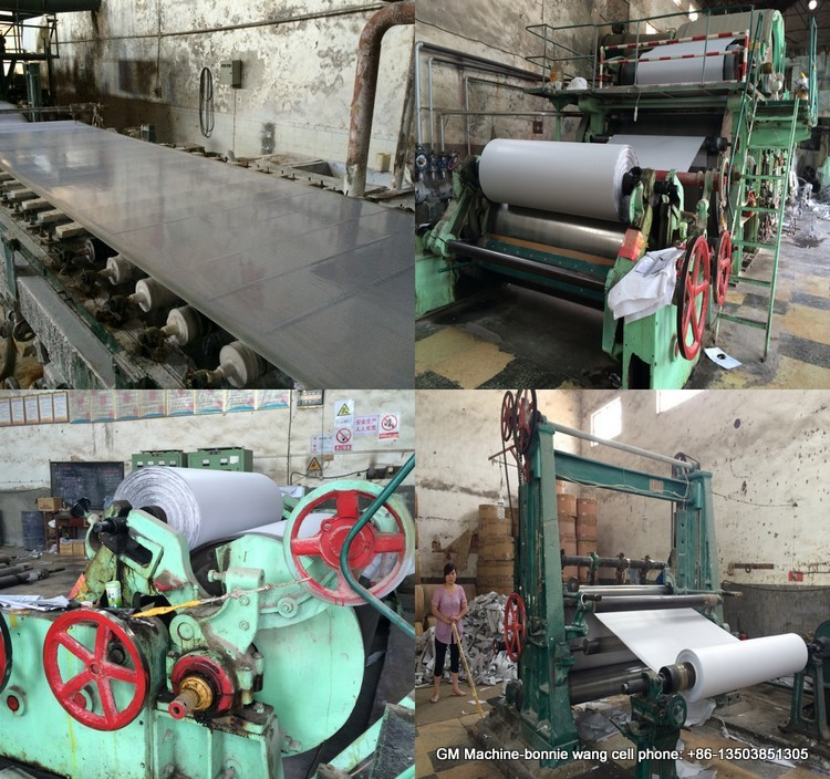 cheap import office use a4 copy paper making machine, school use exercise book paper production line from China
