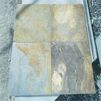 Rusty color autumn natural slate good price