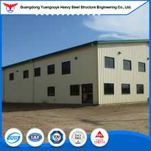 China TOP 5 Light Steel Structure Warehouse /Cheap Prefab Steel Structure House for Galvanized
