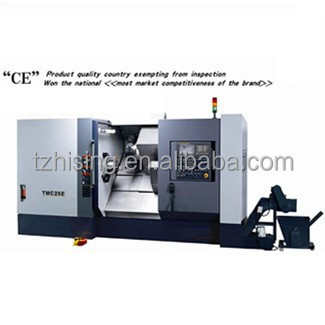 TOP QUALITY CNC slant bed turning center WITH FANUC controller for sale