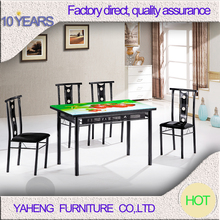 cheap rectangle used dining room furniture for sale