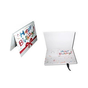 Personalized MP3 Happy Birthday Sound Module Music Chip Greeting Card