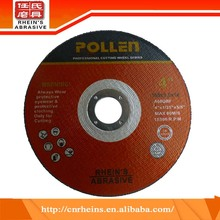 High quality cheap custom 105x1.0x16mm resin diamond cutting wheels