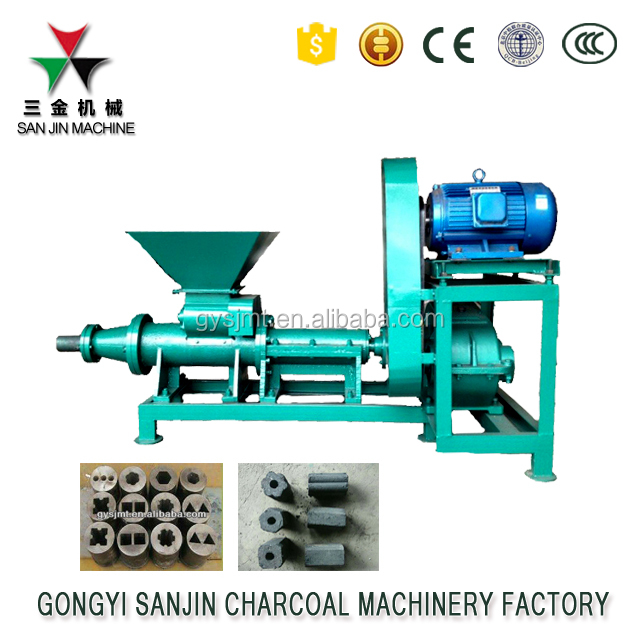 Coal/charcoal briquette making machine/small briquetting plant
