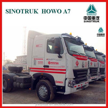 Sinotruk 380hp 420hp howo A7 6x4 tractor head truck for sale