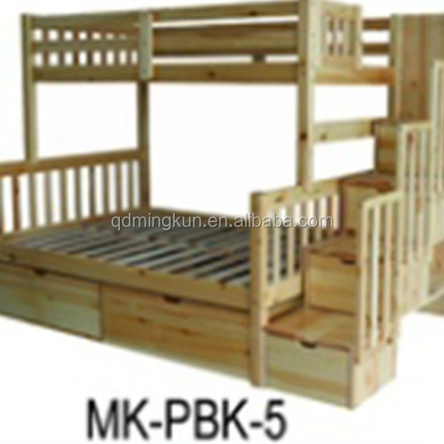 solid wood cabin bed