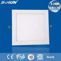 OEM/ ODM recessed led panel light dimmable white led suspended ceiling light