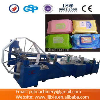 JL-G1000(30-80pcs)Semi-automatic Wet Wipe Making Machine