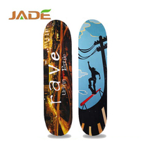 2017 wholesale outdoor longboard, professional maple skateboard for sale