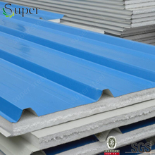 Thermal/heatl insulation/isolation material EPS sandwich panel for wall/roof/ceiling