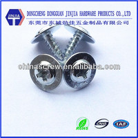 m3*8 galvanized Modified truss head self tapping screw