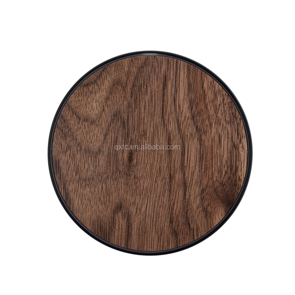 2016 latest bamboo qi wireless desktop charger for samsung galaxy wireless mobile charger