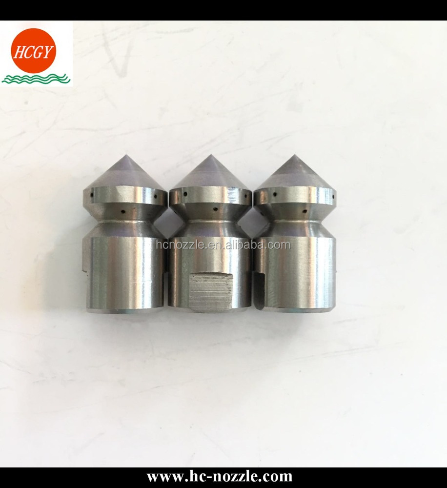 Stainless Steel RSP Multiple Orifice Water Pipe Cleaning Jet Nozzle