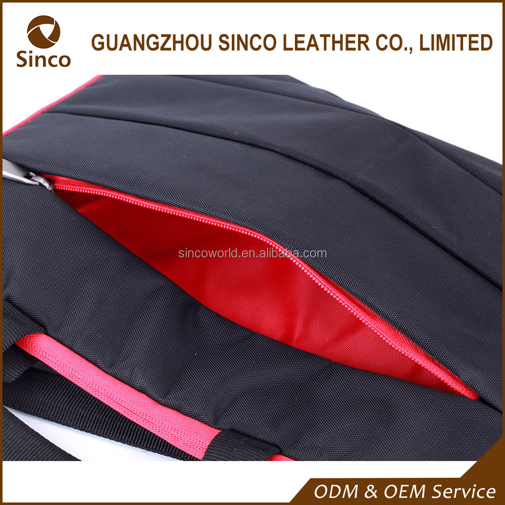 China manufacture cheap hot sale nylon laptop trolley sleeve computer bag