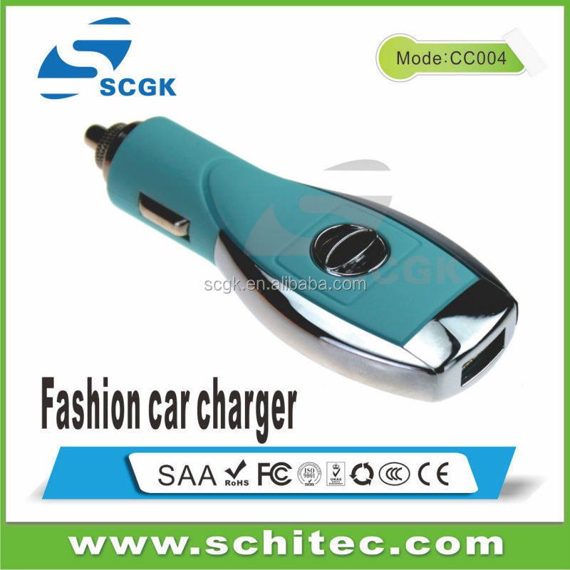 2014 the latest design 5V 2a usb car chargers from list of electronics companies