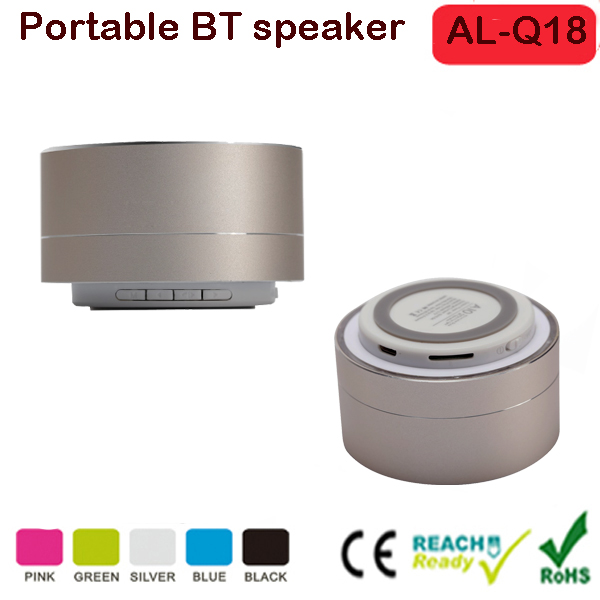 Portable Wireless Bluetooth 3.0 Speaker Stereo SoundBox with Hands-free Microphone/ TF Card Music Playing/ Volume Control