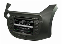 2 din car DVD For Honda FIT 2009-2011 DVD player with GPS radio bluetooth 3G