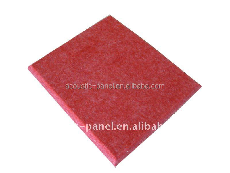 sound insulation recording studio polyester fiber acoustic wall panel