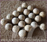 Sepheres/Ball Corel Fossil Marble