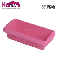 100% Food Grade Microwave Oven Safe Non-stick Silicone Loaf Cake Baking Pan
