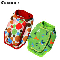 Pet dog outdoor travel harness with bag dog carrier high-end harness with dog saddle backpack