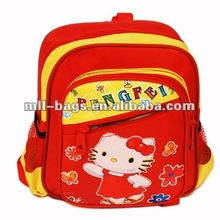 red children cute picture of school bags