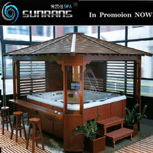 Hot sale garden fashion spa hot tubs gazebo for sale