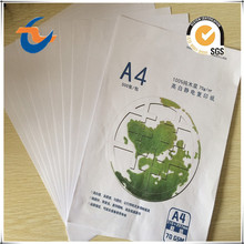 High Whiteness wood pulp 70g/75g/80g/85g A4 Copy Paper 210*297mm