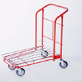 factory warehouse platform heavy cargo cart