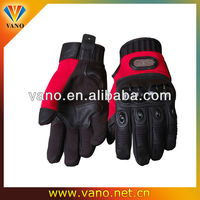 Popular design motorcycle and motorbike L, XL, XXL leather glove