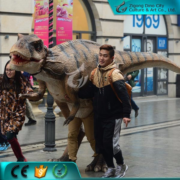 Lifelike Realistic Walking Dinosaur Suit for Outdoor Equipment